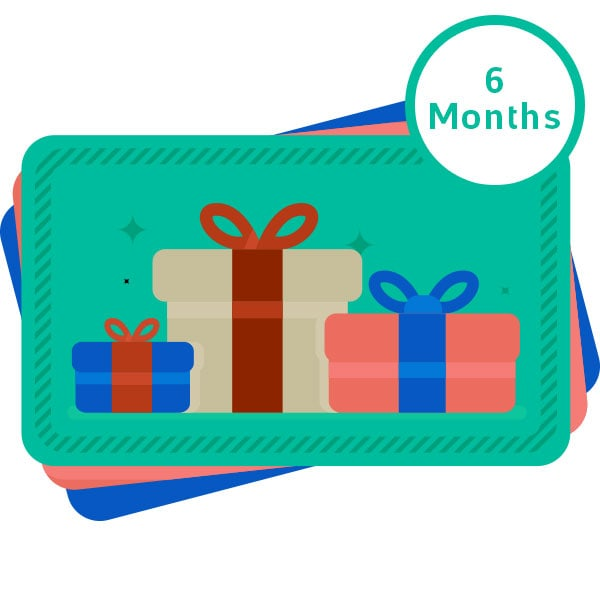 LeilaBox 6 Month Subscription – Gift Card preview
