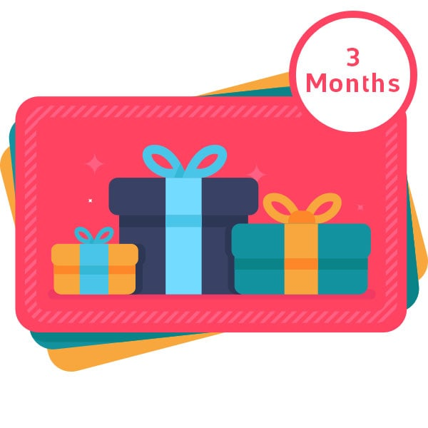 LeilaBox 3 Month Subscription – Gift Card preview